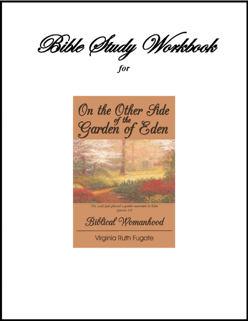 On the Other Side of the Garden of  Eden--Workbook 1000 x 1300
